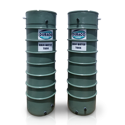 Column type rain water tank