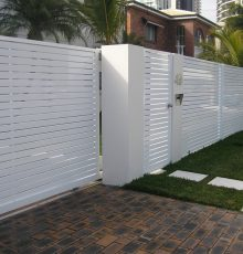 Fence - Sliding Gate & Pedestrian G&AC Ltd