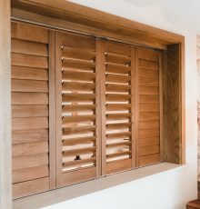 Indoor shutters