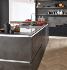 Kitchen Portland Ciment Anthracite - Corona