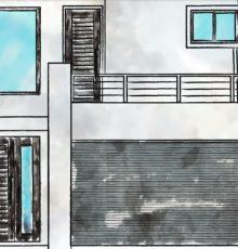 Panel shutters