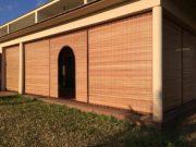 blinds in raffia & wood 1
